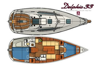 Plan of Delphia 33