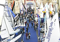 The Dinghy Sailing Show held at London's Alexandra Palace