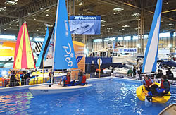 Pico Sailing Dinghies at The Birmingham Boat Show
